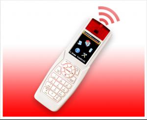 Remote control intruder intrusion detector