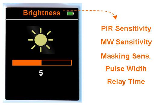 RM-1 Remote Control for intruder intrusion detectors sensors